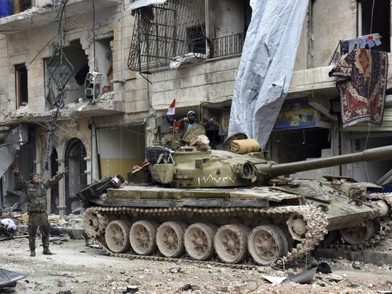 Российские войска вместе с Асадом обороняют северо-запад Сирии