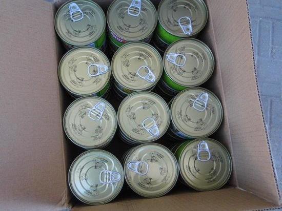 В Псковскую область не пустили китайские рыбные консервы