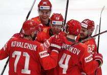 Капризов забросил третью шайбу сборной России в ворота США, видео гола