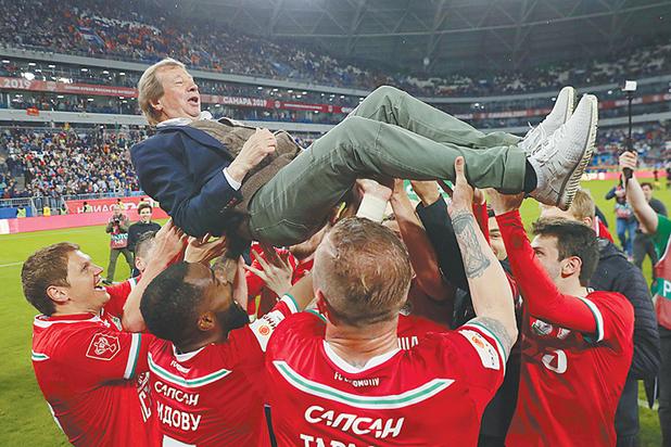 Юрий Семин установил с «Локомотивом» очередной рекорд