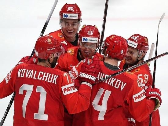 Россия - США - 4:2