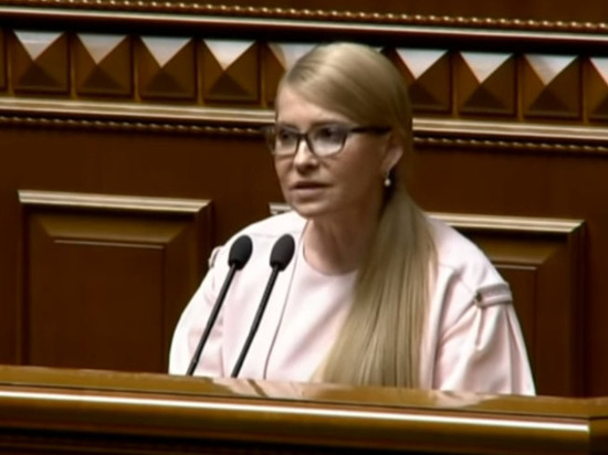 Тимошенко: нам не нужен референдум о переговорах с РФ