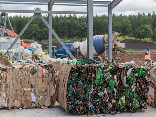 В Башкирии запустили мусоросортировочный завод