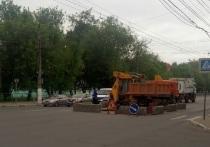 В Твери частично перекрыли Волоколамский проспект