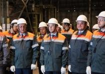 Министр финансов РФ и глава Кузбасса посетили металлургическое производство