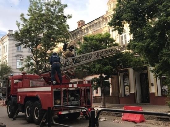 В центре Астрахани горел памятник архитектуры