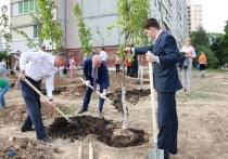 Новый сквер открыт в Турынино Калуги