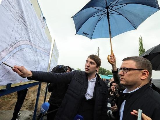 Сквер на кольце улицы Дарвина в Челябинске не будут вырубать, пока не построят мост