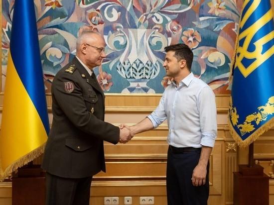 Новый глава ВСУ прокомментировал возможность военного решения в Донбассе