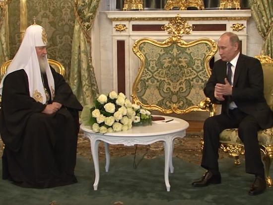Путин посоветовал патриарху Кириллу отдохнуть