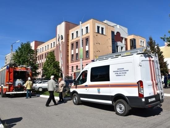 В Саранске эвакуировали сотрудников банка