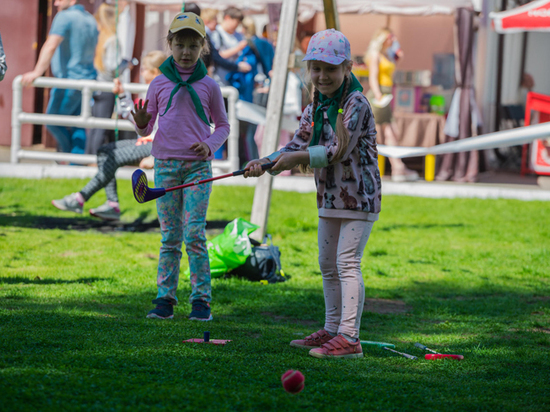 В Москве прошел Всероссийский фестиваль гольфа