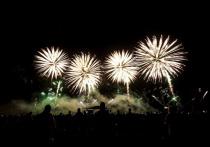 На Кавминводах стартовал фестиваль фейерверков