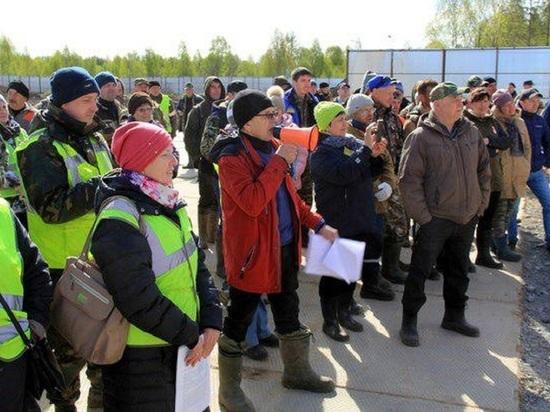 Жители Урдомы объявили о закрытии раковой опухоли на Шиесе