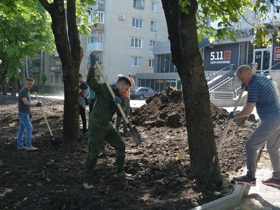 Ставрополь на субботнике убрали к проведению Студенческой весны