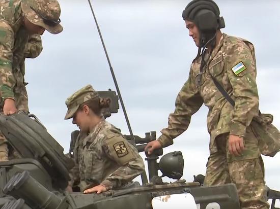 Появилось видео езды американцев на советском танке Т-64
