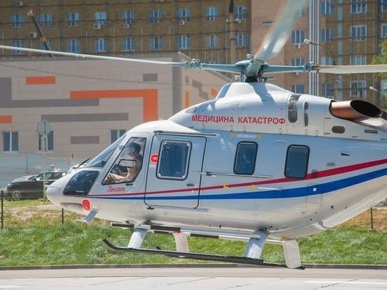 В Волгоградской области санитарная авиация работает круглосуточно