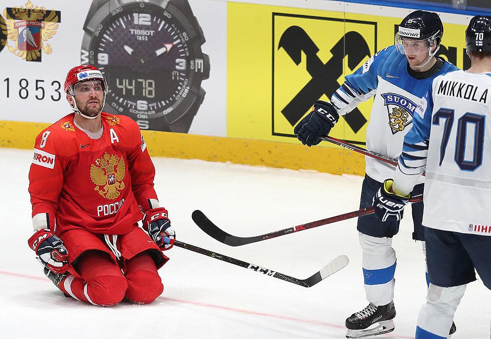 Проклятие Суоми: финны снова обыграли Россию в полуфинале ЧМ по хоккею