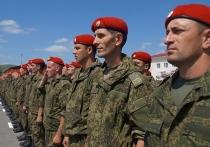 В Ингушетию прибыл батальон военной полиции из Сирии
