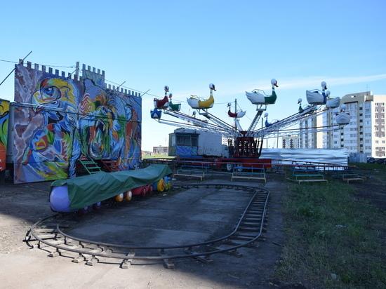 Передвижной зоопарк в Засвияжском районе Ульяновска демонтируют