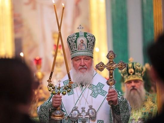 Патриарх Кирилл: РПЦ строит три храма в сутки