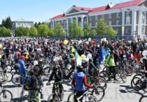 В Кургане в велопараде приняли участие восемьсот человек