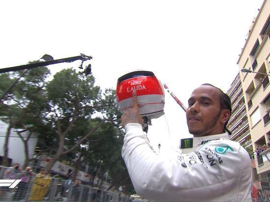 Хэмилтон выиграл Гран-при Монако, Квят снова в очках