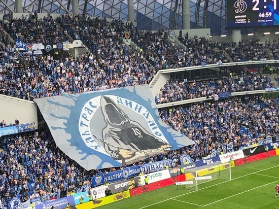 Возвращение легенды: стадион «Динамо» открылся матчем с «Арсеналом»