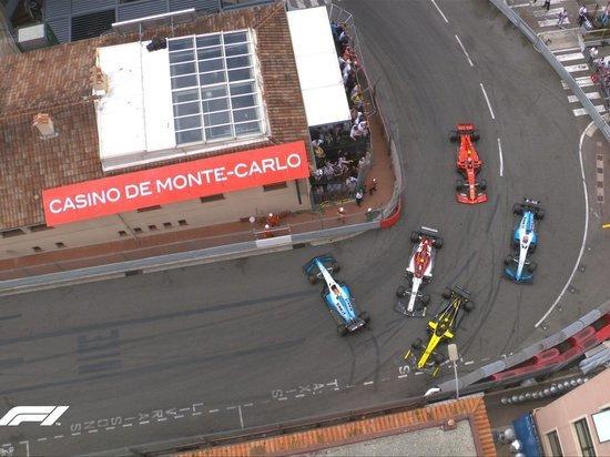 В Монако Хэмилтон вымучивает победу, Феттель второй, Квят седьмой