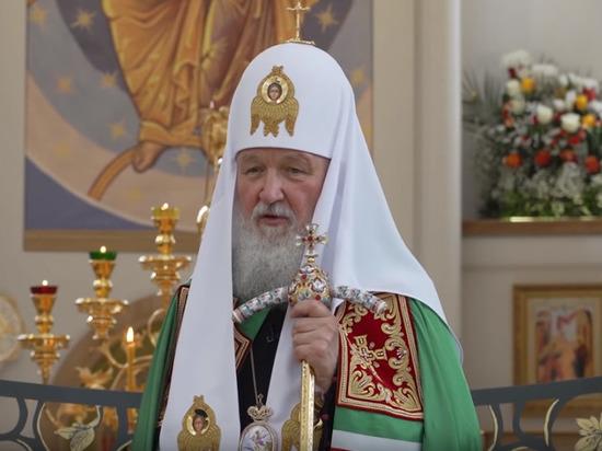 В Страсбурге патриарху Кириллу передали мощи святой Одилии