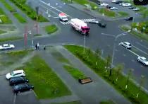 Женщина спровоцировала жесткую аварию в Междуреченске, не пропустив встречку (видео)