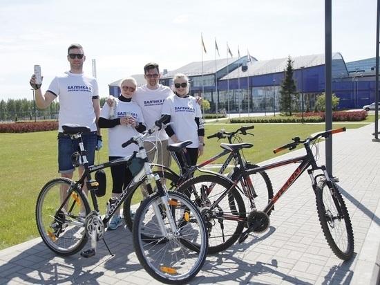 «Балтика 0» поддержала велопробег в День города Ярославля