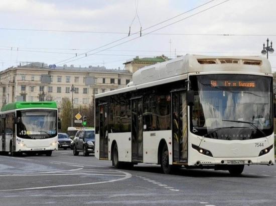 СМИ рассказали об автобусах, которые пополнят автопарк Санкт-Петербурга