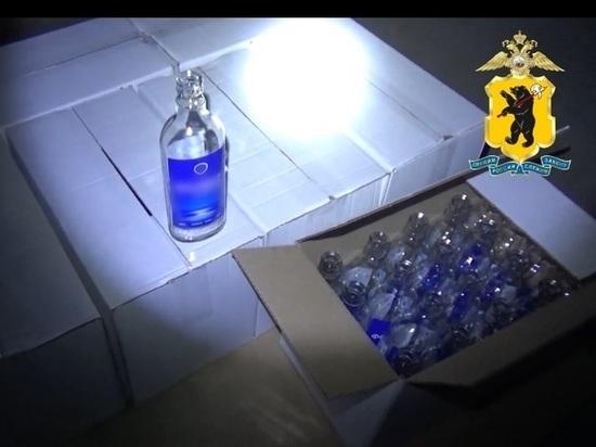 Как в 90-х годах: в Ярославле выявлен подпольный цех разлива водки