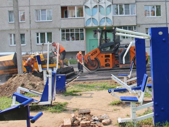 К юбилею столицы  в Чебоксарах отремонтируют 41 двор