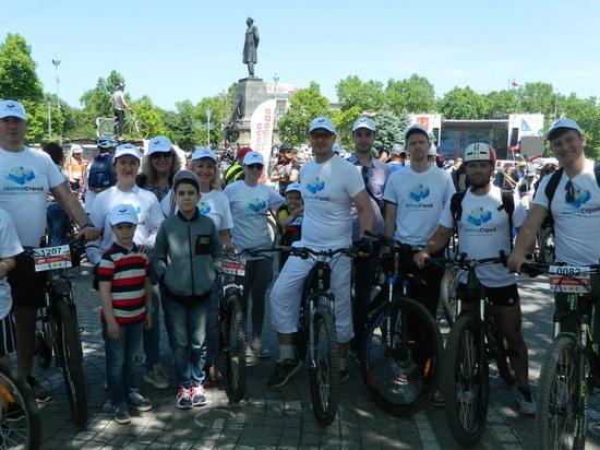 На севастопольские дороги вышли две тысячи велосипедистов