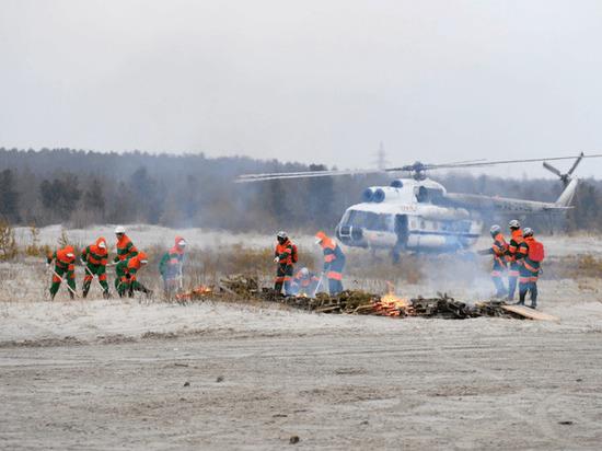 Глава ЯНАО проверил готовность региона к тушению лесных пожаров