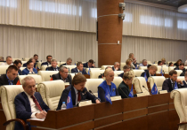 Центральной темой майской пленарки Законодательного собрания стал отчет об исполнении бюджета края за прошлый год