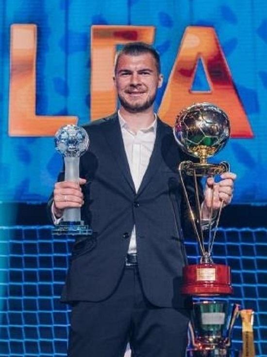 Комличенко признан лучшим нападающим и лучшим легионером в Чехии