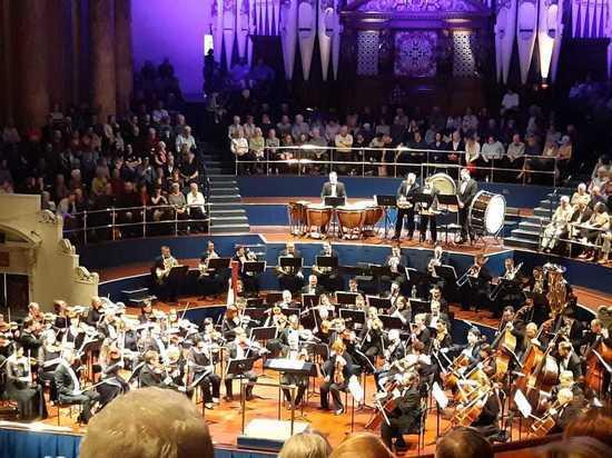 В Британии прошли гастроли Новосибирского симфонического оркестра