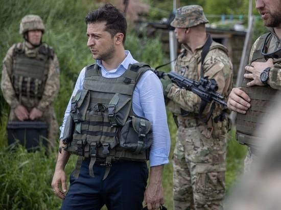 Голубая рубашка Зеленского насторожила Донбасс: ни слова о мире