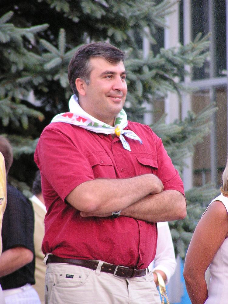 Саакашвили в Крыму: как Михо навестил лагерь своего детства
