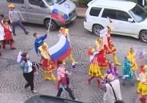 Грузинские политики приравняли шествие русских детей к акции террористов