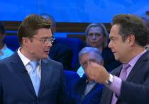 Два политолога закатили скандал в эфире