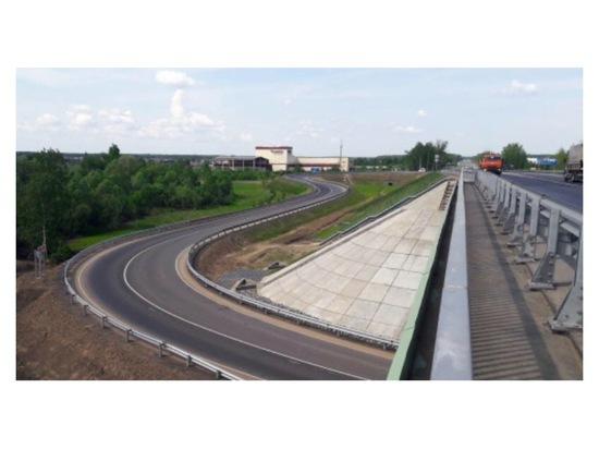 В Серпухове ввели в эксплуатацию путепровод, протяженностью более 1,5 километра
