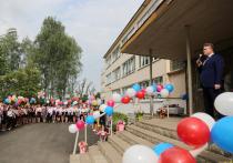 Глава Воронежа осмотрел новую четырехэтажную пристройку к школе в Подгорном