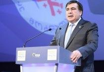 Партия Саакашвили пойдет на выборы в Раду