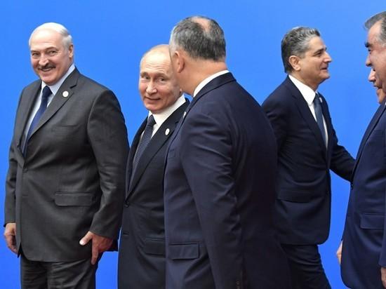 На юбилее ЕАЭС все очень старались держать себя в руках