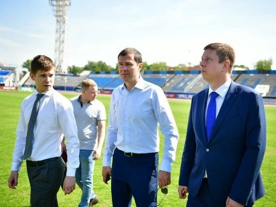 Мэр Ярославля проинспектировал стадион