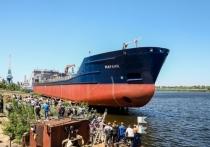 В Волжском спустили на воду уникальный танкер